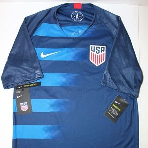 NIKE AUTHENTIC USA AWAY JERSEY 2018 SIZE SMALL